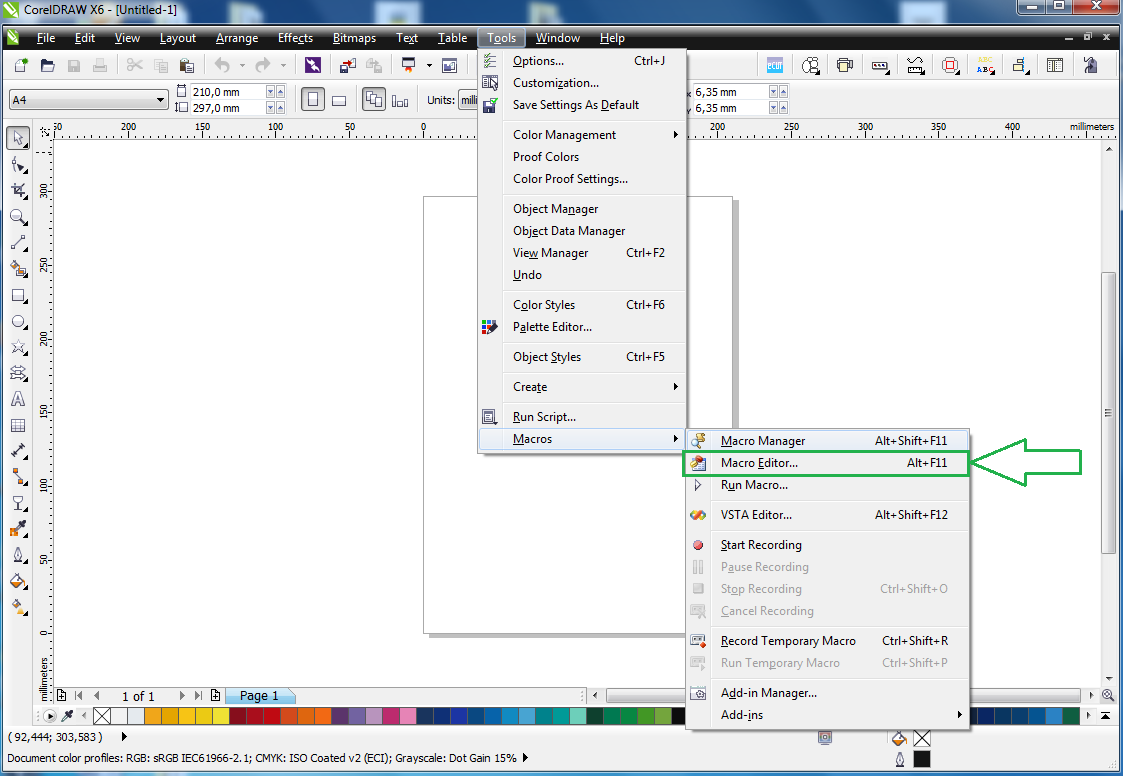 What Is VBA? Do I Have It? - CorelDRAW Unleashed